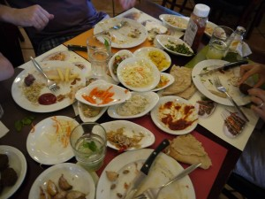 aftermath of eating in Israel